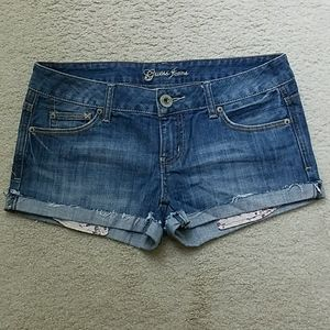 Guess Low Rise Denim Shorts (Pre-owned)